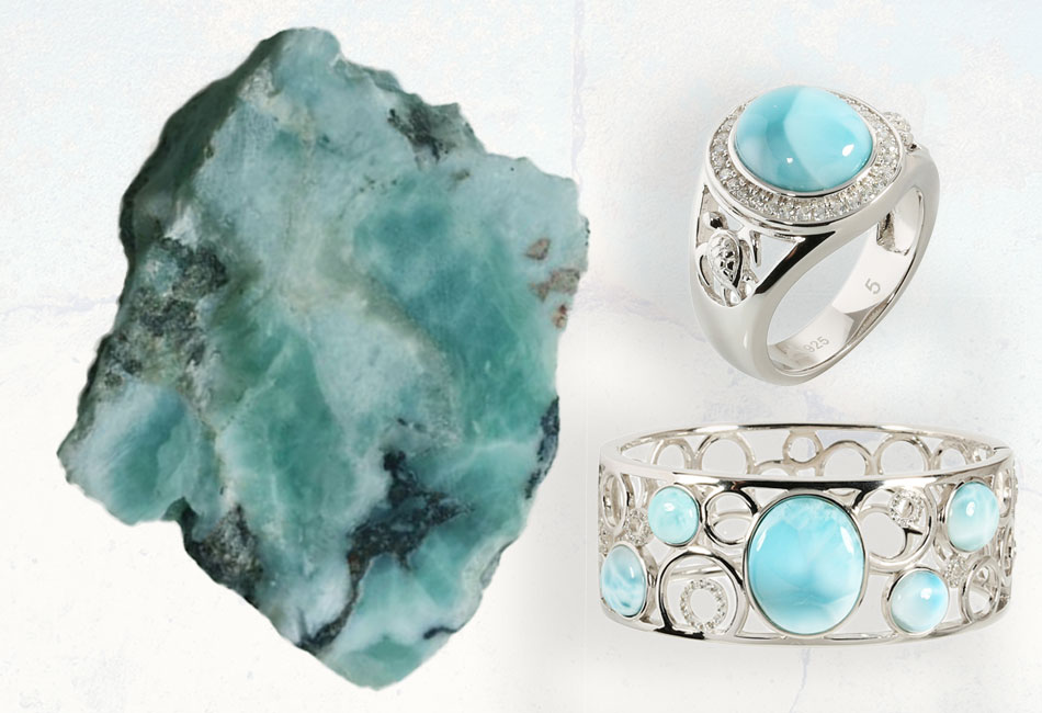The Larimar Gemstone