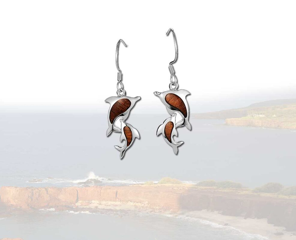 Dolphin Silver Earrings